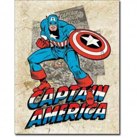 Capt america cover splash