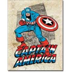Capt america cover splash
