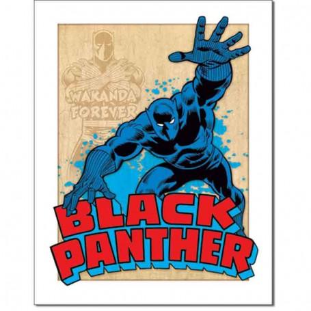 Black panther retro