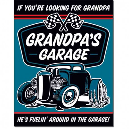 Grandpa's garage fuel in