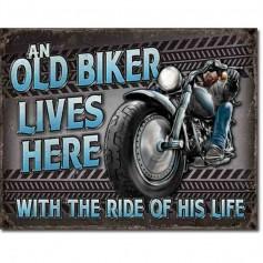 Old biker ride