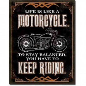 Life is life motorcycle