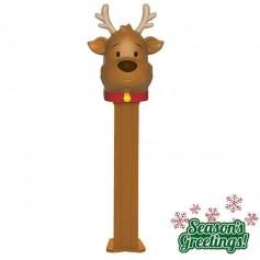 Pez merry christmas reindeer