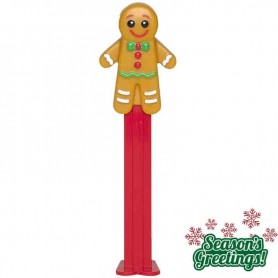 Pez merry christmas gingerbread man