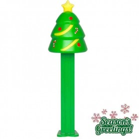 Pez merry christmas tree