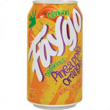 Faygo pineapple orange