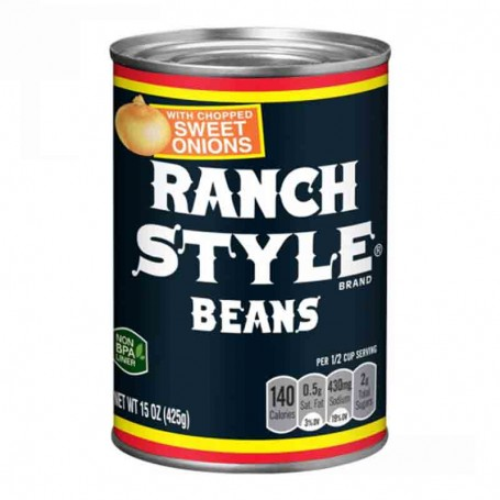 Ranch style beans sweet onions
