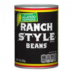 Ranch style beans jalapeño pepper