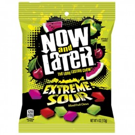 Now and later extreme sour