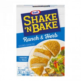 Shake'n bake ranch and herb