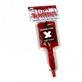 Blood drip candy