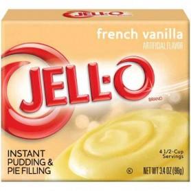 Jell-O french vanilla pudding