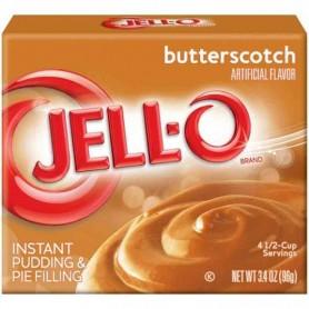 Jell-O butterscotch pudding