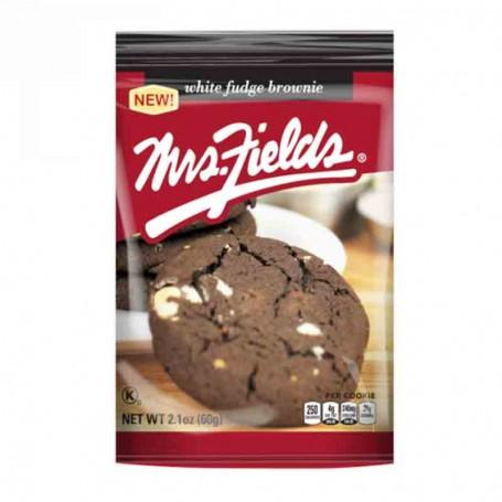 Mrs Fields cookie white fudge brownie