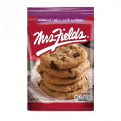Mrs Fields cookie oatmeal raisin with walnut