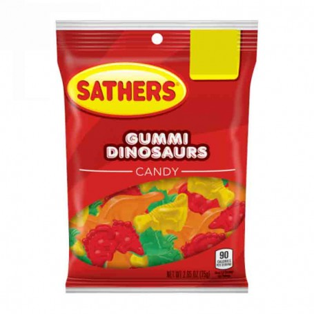 Sathers gummi dinosaurs
