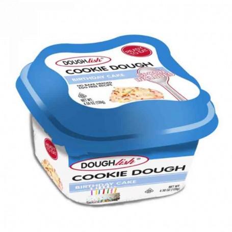 Doughlish cookie dough birthday cake