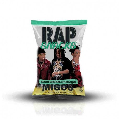 Rap snacks sour cream and ranch 28G