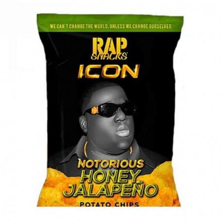 Rap snacks honey jalapeño 28G