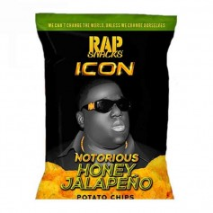 Rap snacks honey jalapeño 28G
