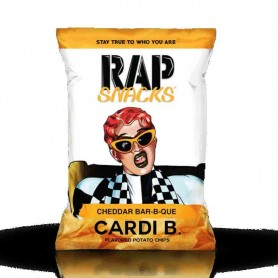 Rap snacks cheddar bbq 28G
