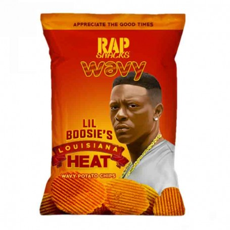 Rap snacks lousiana hot