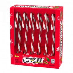 Candy cane now and later cherry