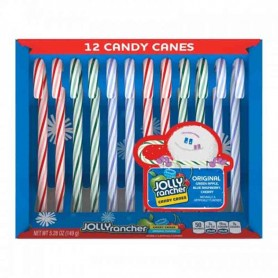 Candy cane jolly rancher