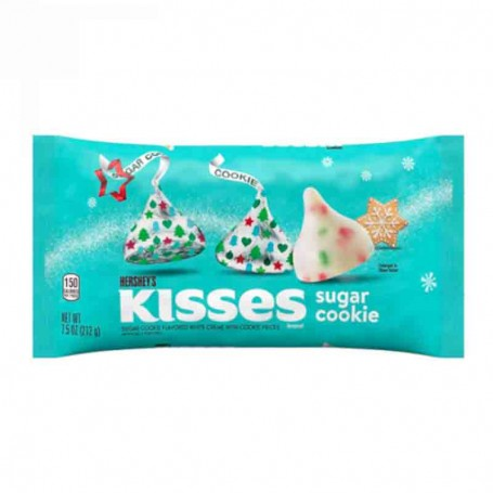 Hershey's kisses sugar cookie