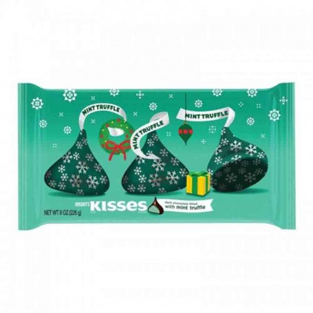 Hershey's kisses mint truffle