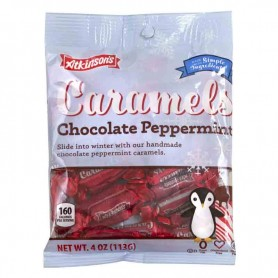 Atkinson caramels chocolate peppermint