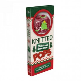 Knitted xmas sweater pop